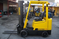 HYSTER, Gas