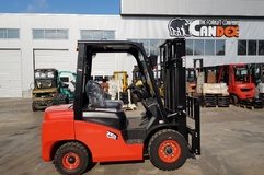 EP Forklift, Gas